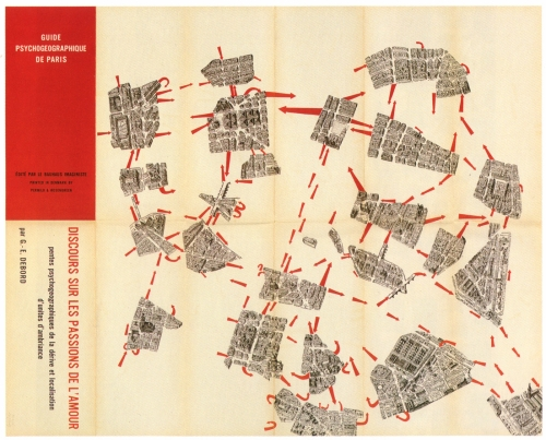 Guy Debord, Guide Pychogéographique de Paris